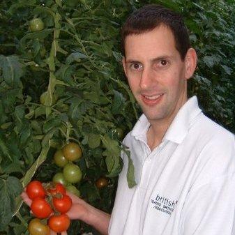 Tomato specialist Brian Moralee